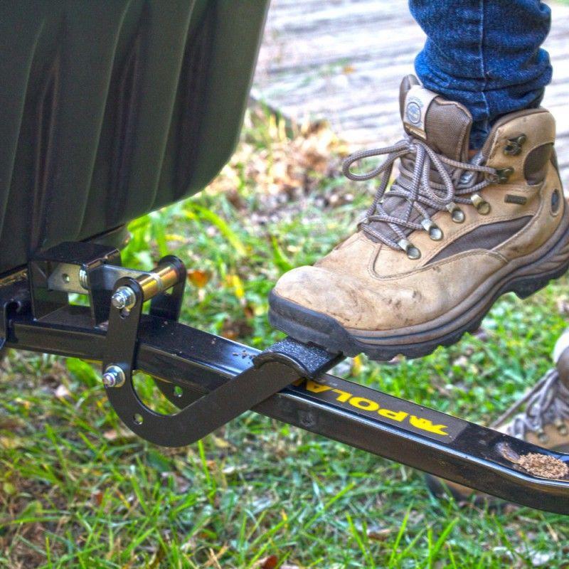 polar trailer foot pedal latch