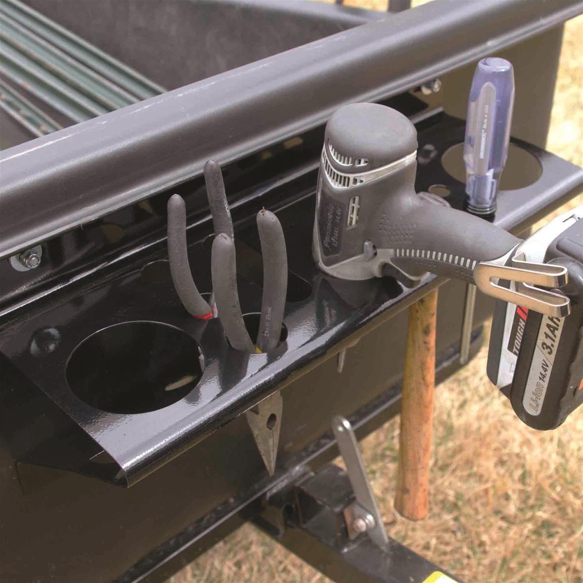 polar trailer tool organizer